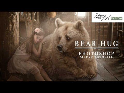 Photoshop Tutorial - Bear Hug Walk Through