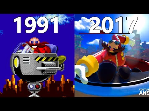 Evolution Of Eggman In Sonic Games 1991-2017