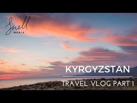 Kyrgyzstan Travel Vlog 1 - Part 1 - Bokonbaevo, Yurt Camp Sunrises, Horse Treks, and Crazy Storms!!