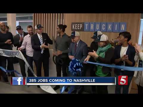 Company To Bring Almost 400 Jobs To Nashville