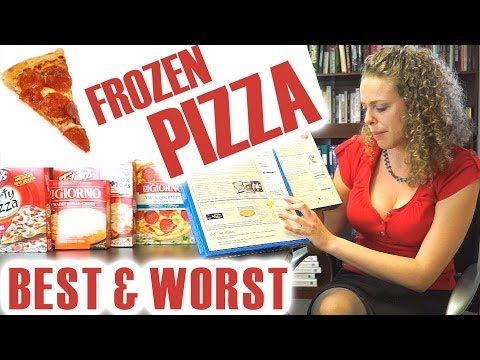 PIZZA! Fast Food Battle of the Frozen Pizzas! Healthy Tips, Banned Food Chemicals, GMO, Nutrition