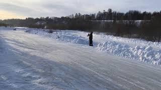 Зимний картинг
