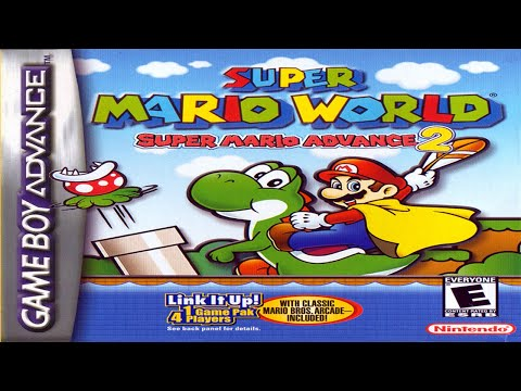 [LONGPLAY] GBA Super Mario World Super Mario Advance 2 [100%] (HD, 60FPS)