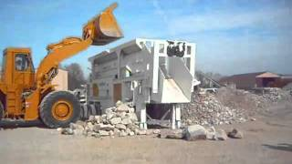 2002 Simplicity R4524 Rip Rap Screening Plant