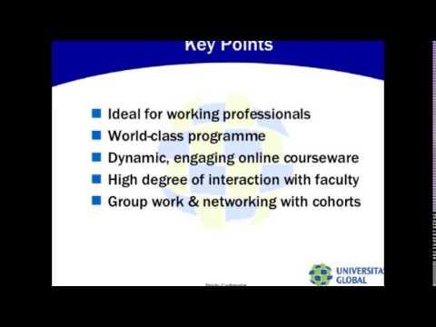 online degree programme