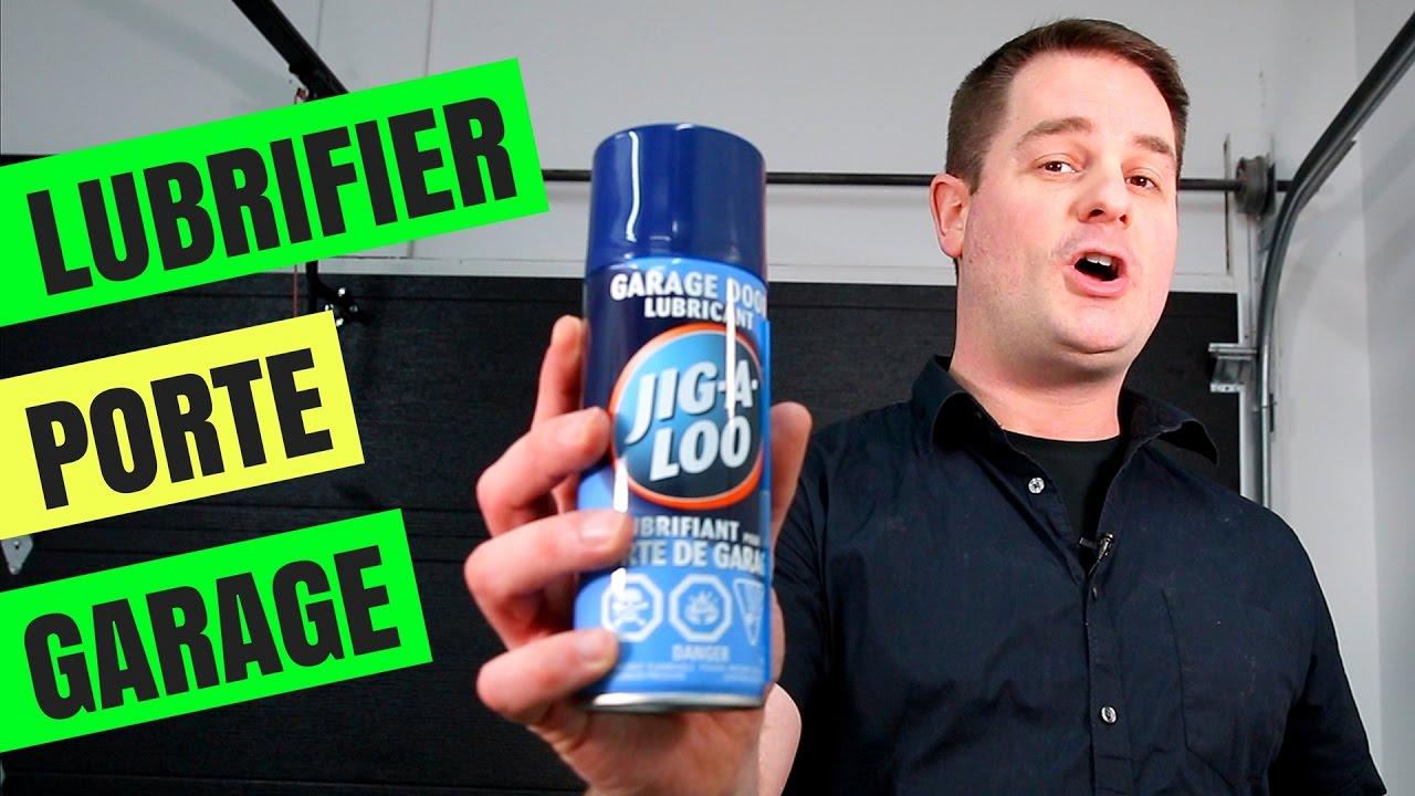 Comment lubrifier une porte de garage youtube for Comment programmer une telecommande de porte de garage