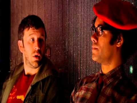 IT Crowd. At the 8+ club.