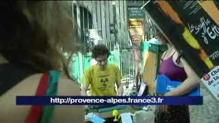 Avignon Off : poète public
