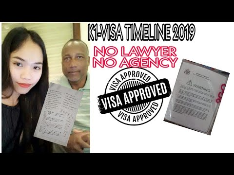 US K1 VISA APPROVED 2019 INTERVIEW EXPERIENCE ( Tagalog )