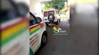 Patients queue in ambulances at Korle-Bu due to 'no beds'