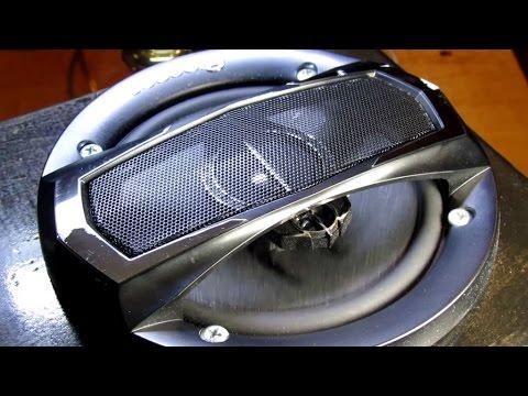 Homemade Speaker Box Testing - High Volume (100W RMS)