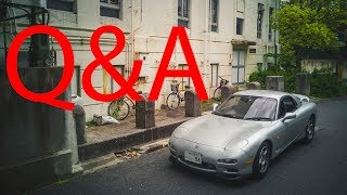 Q&A Special: Working and living in Japan, Importing cars to the US...etc