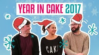 A Year in CAKE! | The How To Cake It Team talk FAVE Moments In 2017 | Yolanda Gampp