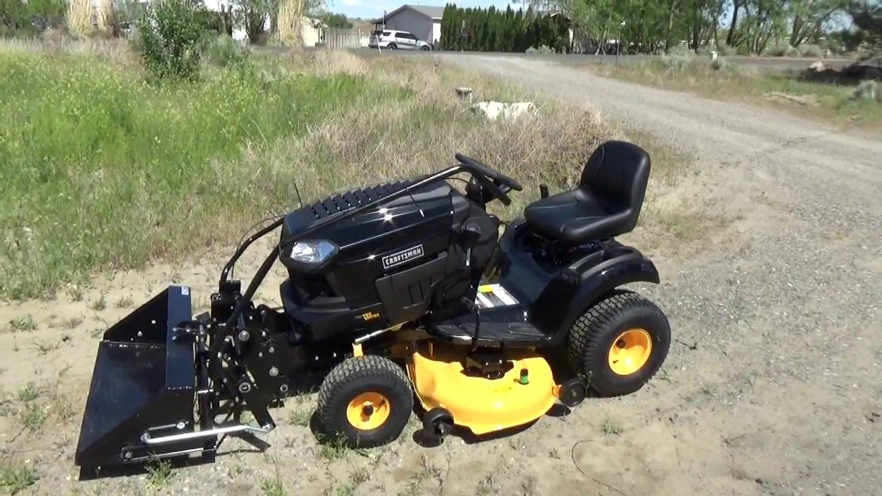 small resolution of craftsman pro series 46 24hp riding mower 71 20442 front scoop 46quot deck electric pto diagram and parts list for mtd ridingmower