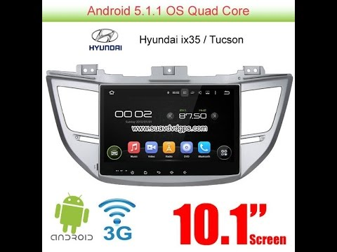 Hyundai ix35 Tucson android car radio wifi gps Apple CarPlay