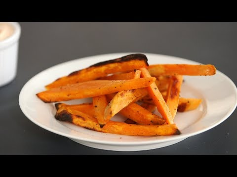 Crispy Oven-Baked Sweet Potato FriesKitchen Conundrums with Thomas Joseph