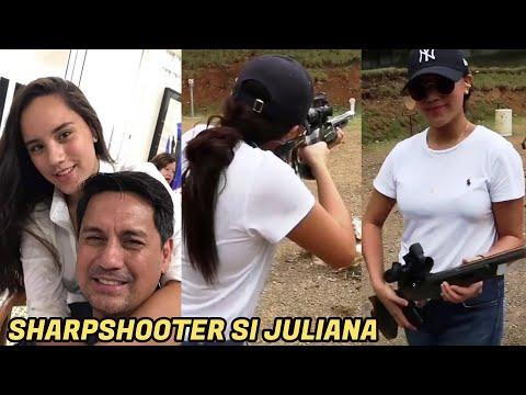 SHARP SHOOTER Juliana Gomez Nagpakitang GILAS sa GALING BUMARIL -  (2020)