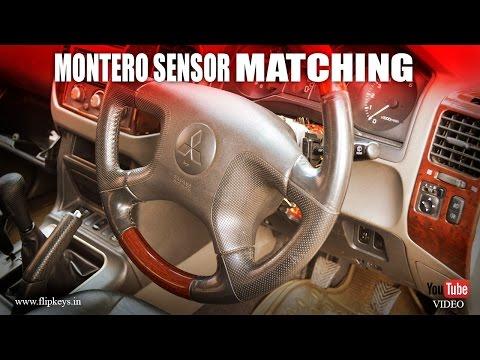 Mitsubishi Montero Key Coding