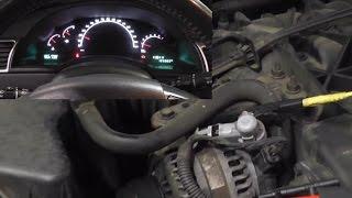 Bad Alternator Diode causing transmission/speedometer problems