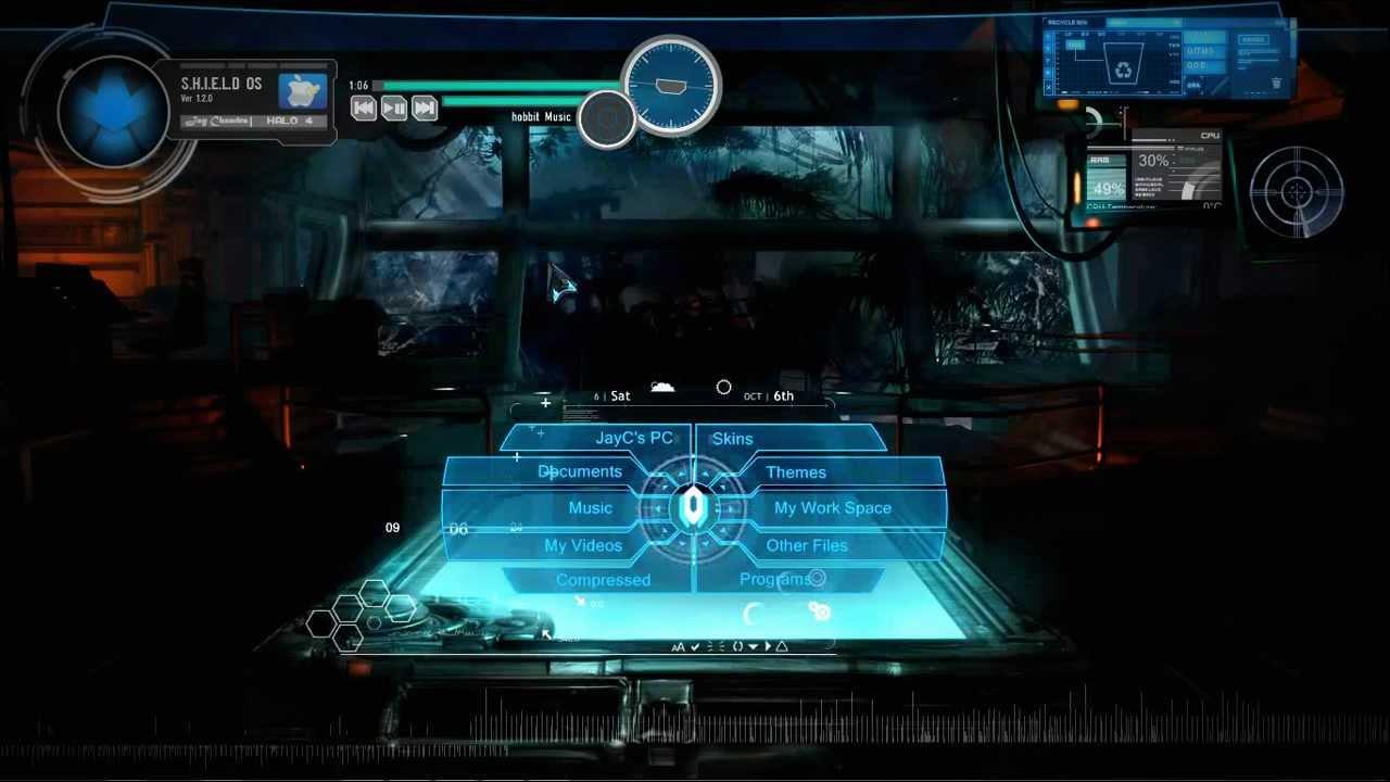 3d Wallpaper For Pc Windows 7 Free Download Halo 4 Windows 7 Theme Customization Extreme Youtube