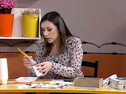 Caja para fotos forrada en tela youtube for Forrar cajas de carton con tela