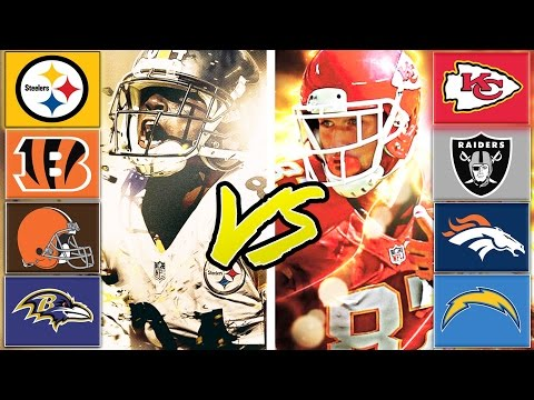AFC North All-Stars vs AFC West All-Stars (Best Division in The NFL Game 6) Madden Tournament