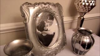 WEDDING BOUQUET VASE / DIY BLING VASE CENTERPIECE