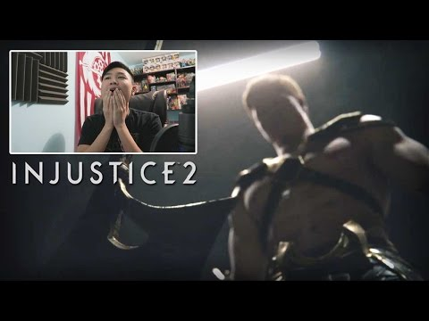 Injustice 2 - Official Announcement Trailer! [REACTION]