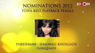 TOIFA Nominations - Best Playback - Female