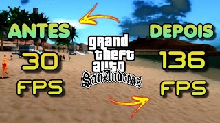 COMO REMOVER 100% DO LAG DO GTA SAN ANDREAS