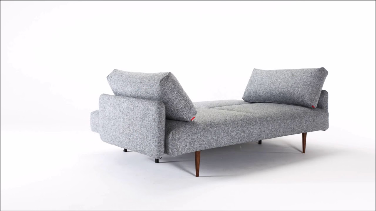 - Innovation Frode Sleeper Sofa With Arms - YouTube