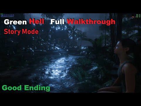 Green Hell Story Walkthrough Full Game Good Ending