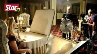 Съемки клипа Марта Бабаяна и  Анны Семенович на песню 'Люби'