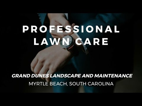 The Best Lawn Care Service in Myrtle Beach, South Carolina