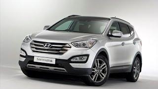 Хендай Санте Фе 2015.  Hyundai Santa Fe Sport.  Тест драйв