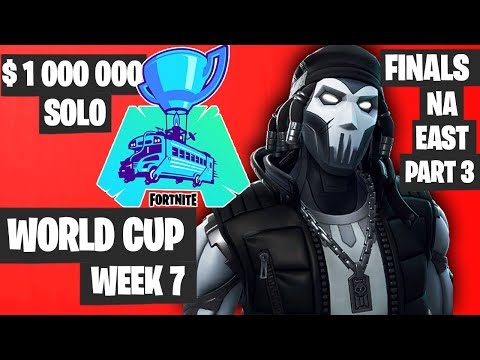 Fortnite World Cup Week 7 Highlights Final NA East SOLO Part 3 [Fortnite World Cup Highlights]