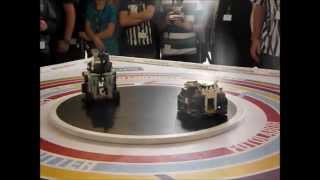Robotchallenge 2014 - Lego Sumo - Final