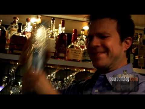 The Original Manhattan Cocktail Recipe Demonstrated