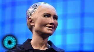 Roboter Sophia will Menschheit zerstören und bekommt die Staatsbürgerschaft