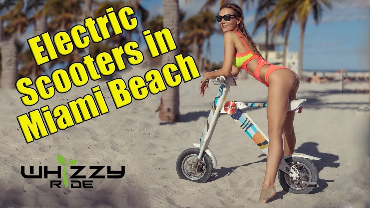 Whizzy Ride Electric Scooters In Miami Beach S And Al