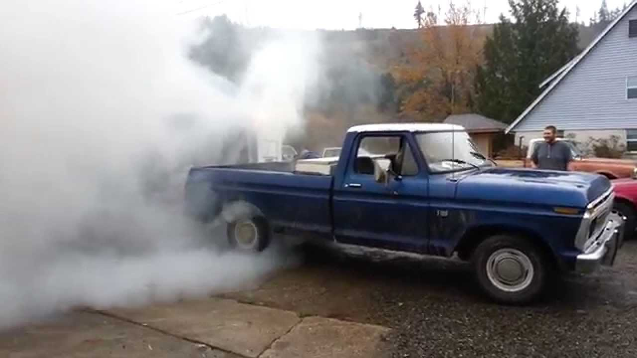 1976 Ford F100 Smokeshow Youtube