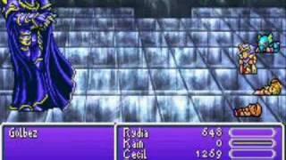 Final Fantasy IV (Advance) - Rydia against Golbez