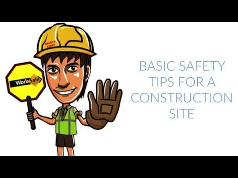 Basic Safety Tips On A Construction Site