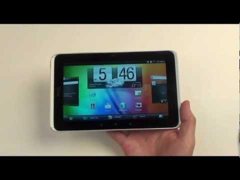 HTC Flyer Wi-Fi + 3G - видеообзор ( p510e ) от магазина Video-shoper.ru