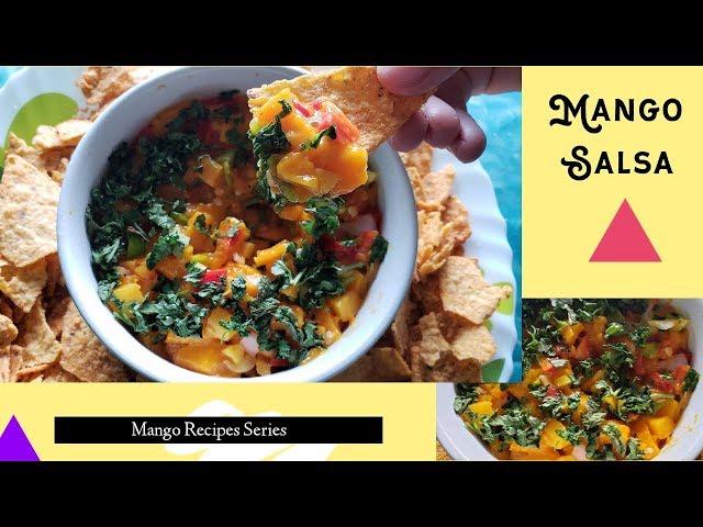 Mango Salsa / Salad   Recipes   Hiral Pandya
