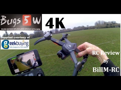 Фото MJX Bugs 5W 4K Version Full review - 5G WIFI FPV GPS Quadcopter Drone