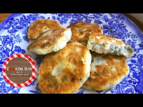 Соленые сырники с зеленью | Простые рецепты от CookingOlya
