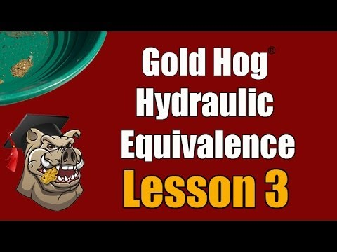 Gold Cyclone - Learning Video - Hydraulic Equivalence