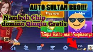 Cara menghack dan menambah Chip gratis Domino Qiuqiu Topfun 2021!!!Auto Jadi Sultan😎pakai cheat screenshot 4