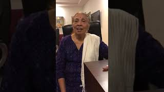 Success story - Sudha Naik - Case of Macular Degeneration